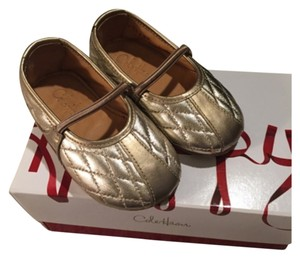 Baby Cole Haan Gold Flats