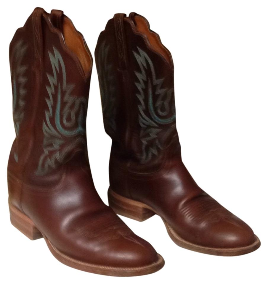 MISS Lucchese Brown 2000 2000 Brown Boots/Booties Germany 911842