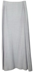 bebe Cocktail Long Maxi Skirt VERY LIGHT GREEN