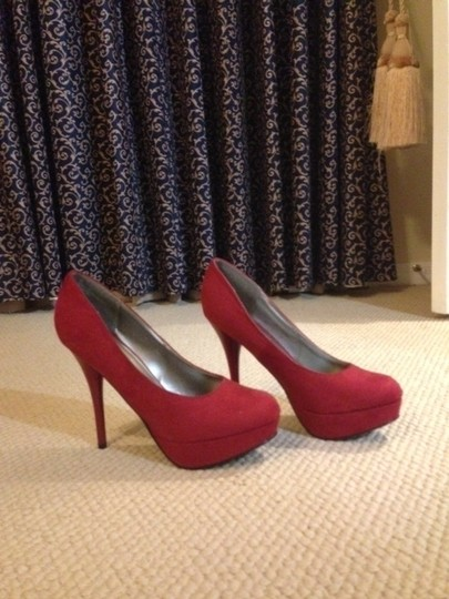 Mossimo Supply Co. Red Pumps