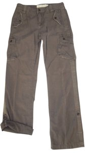 J.Crew Straight Leg Military Style Convertible Parachute City Fit Capri Crop Chino Twill Weathered Cargo Pants Fatigue Loden Green
