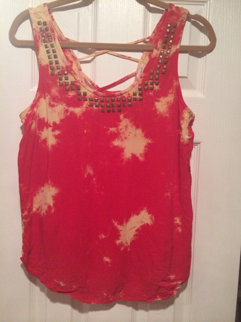 Forever 21 Top Red and peach