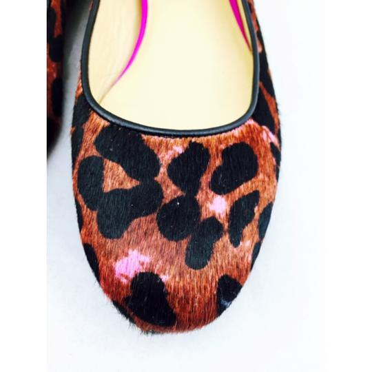 Cole Haan Leopard print with black, pink and gold accents Flats Image 8