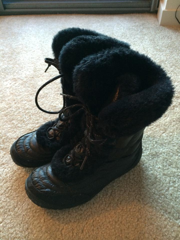 4c140dd8e The North Face Black Women's Nuptse Faux Fur Iv Boots/Booties Size US 8.5  Regular (M, B) 81% off retail