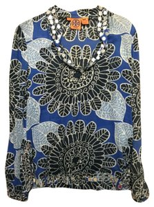 Tory Burch Print Sequin Tunic