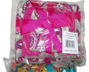 Vera Bradley Vera Bradley Trio Cosmetic 3 bags NWT Paisley Meets Plaid - Retired
