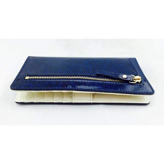 Kate Spade Kate Spade Navy Blue Glitter Wallet New With Box Image 6