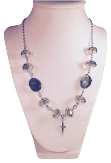 Preload https://img-static.tradesy.com/item/8496106/cesare-paciotti-silver-vintage-faceted-stone-jpcl0697b-925-necklace-0-1-540-540.jpg