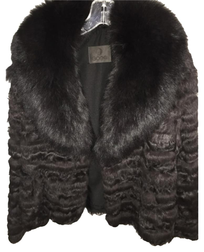neiman marcus charcoal fur coat size 10 m tradesy. Black Bedroom Furniture Sets. Home Design Ideas