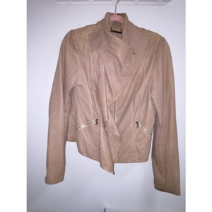 Diane von Furstenberg Blush Leather Jacket