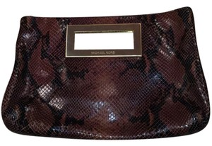 Michael Kors Brown Clutch