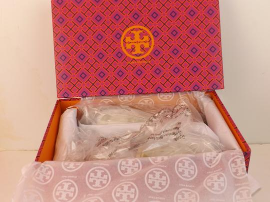 Tory Burch ivory/olive/royal tan Sandals Image 4