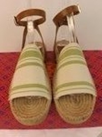 Tory Burch ivory/olive/royal tan Sandals Image 7