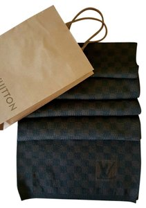 Louis Vuitton LOUIS VUITTON Shawl Scarf Damier Petite Checkered