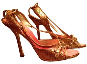 DSquared Gold Sandals