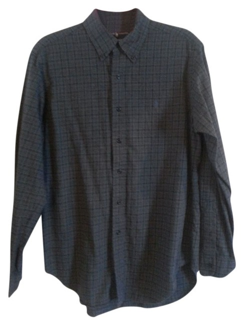 Preload https://img-static.tradesy.com/item/850327/ralph-lauren-black-and-gray-plaid-button-down-top-size-os-one-size-0-0-650-650.jpg