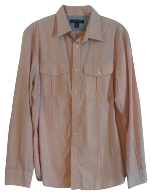 Preload https://img-static.tradesy.com/item/850367/banana-republic-coral-and-white-slim-stripe-button-down-top-size-os-one-size-0-0-650-650.jpg