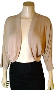 Ann Taylor LOFT Cropped Size Large Open Front P1827 Cardigan