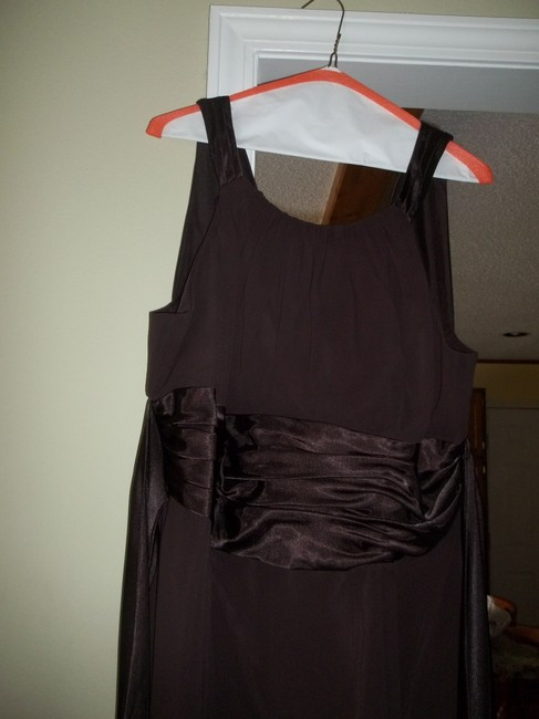 Item - Brown / Truffle Polyester 12732 Formal Bridesmaid/Mob Dress Size 20 (Plus 1x)
