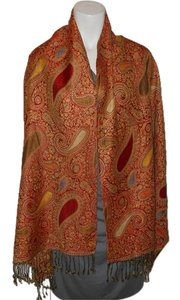 Other paisley fringed wrap