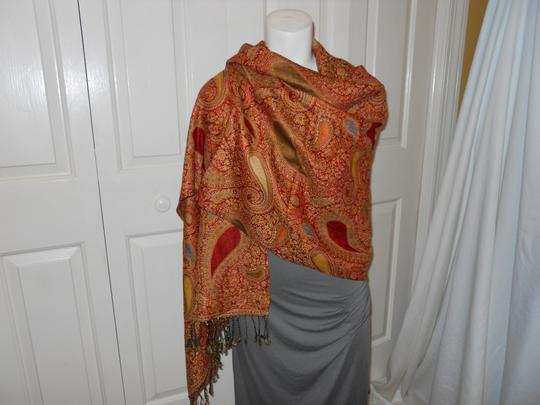 Other paisley fringed wrap Image 1