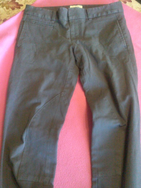 Ann Taylor LOFT Chic Capri/Cropped Pants gray