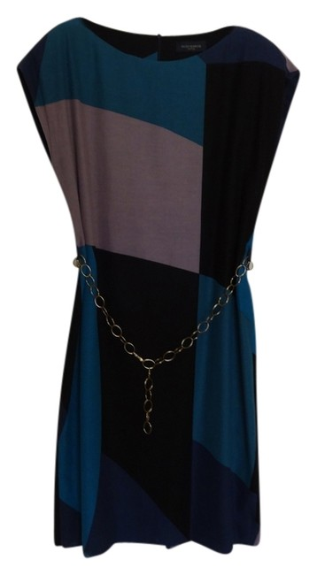 Preload https://img-static.tradesy.com/item/850838/piazza-sempione-mixed-blue-knee-length-workoffice-dress-size-12-l-0-0-650-650.jpg
