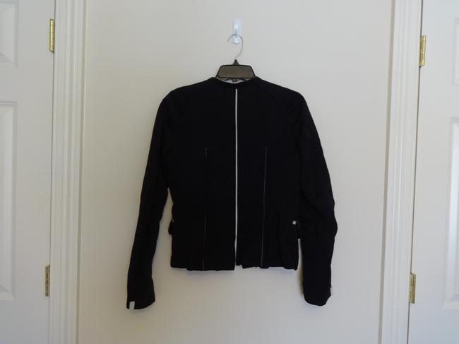 Lida Baday black with silver trim Jacket