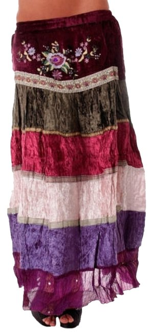 Item - Multicolor Womens Medium New Brand Floral Color Skirt Size 8 (M, 29, 30)