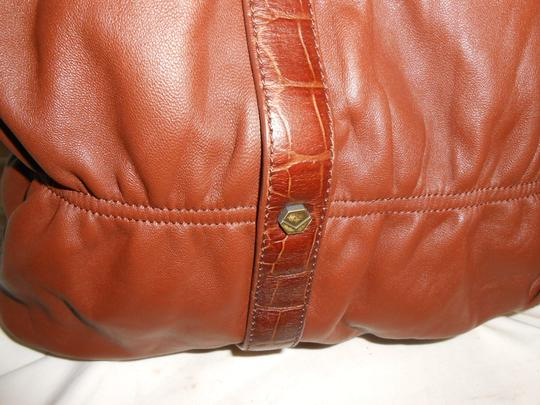 Via Spiga Shoulder Tote in Carmel Brown Image 1
