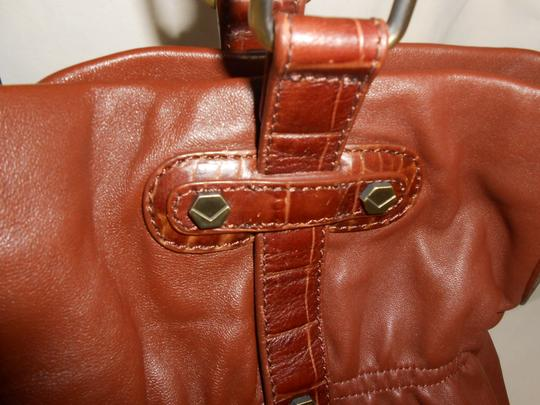 Via Spiga Shoulder Tote in Carmel Brown Image 3