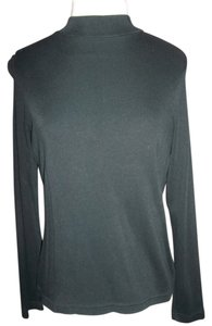 Liz Baker Medium Lightweight Mock T-neck Sweater