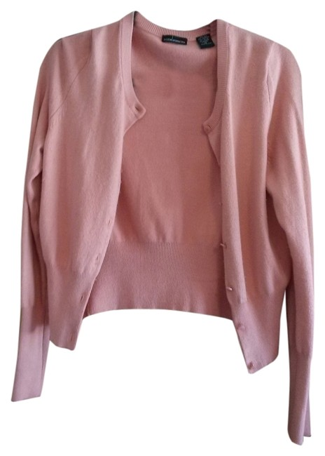 Moda International Cashmere Silk Sweater Victoria's Secret Cardigan