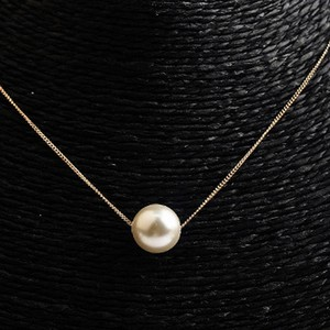New Delicate Rose Gold Pearl Necklace