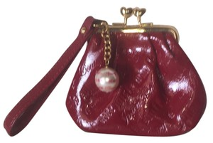 Juicy Couture Wristlet in Red