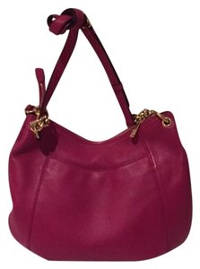 Michael Kors Purse Hot Pink Fuschia Hobo Bag