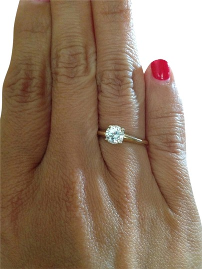 Other .75 CT Diamond 14K Yellow Gold Engagement Ring