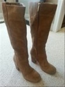 Nine West Suede Tan Boots