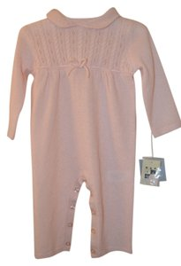 Max Studio Max Studio 3-6 Month Pink 100% Cashmere Onesie-Brand New with Tags