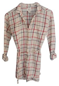 Levi's Button Down Windowpane Tunic