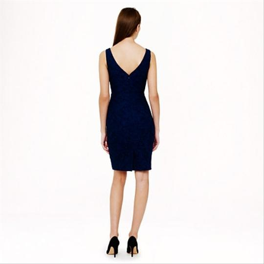 J.Crew Acropolis Blue Lace Sara In Leaver's Traditional Bridesmaid/Mob Dress Size 8 (M) Image 1
