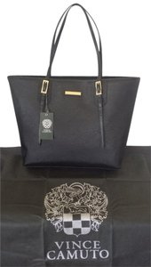 Vince Camuto Leather New Tote in Black