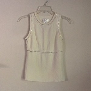 Ann Taylor LOFT Top Off white