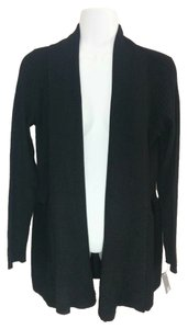 JM Collection Jm Status Play Sweater Open Front Cardigan