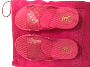 Louis Vuitton Pink Sandals
