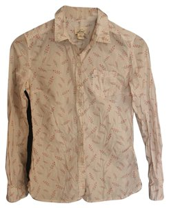 Levi's Floral Delicate Sweet Country Button Down Shirt White