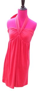 Victoria's Secret Bra Halter Strapless Bright Vivid Stretchy Convertible Tie Elastic Long Spandex Cotton Fitted Loose Adorable Classic Tunic