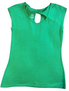 Target Silk Soft Tee Mossimo Top Green