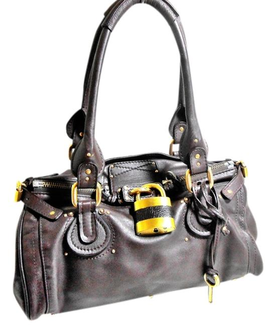 Item - European Chic Brown Leather Satchel