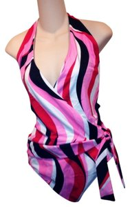 Shape FX New Shape FX One Piece Abstract Bathing Suit-Long